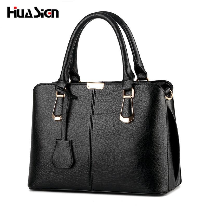 Huasign Sweet Fashion Women Bag Handbags Women Famous Designer Women Leather Handbags Luxury Ladies Hand Bags messenger bags