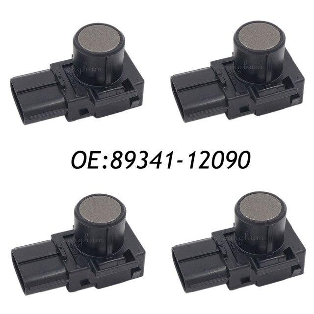 4PCS 89341-12090 188300-2100 Parking Sensor Distance Control Sensor Car Detector For Toyota Brown Color