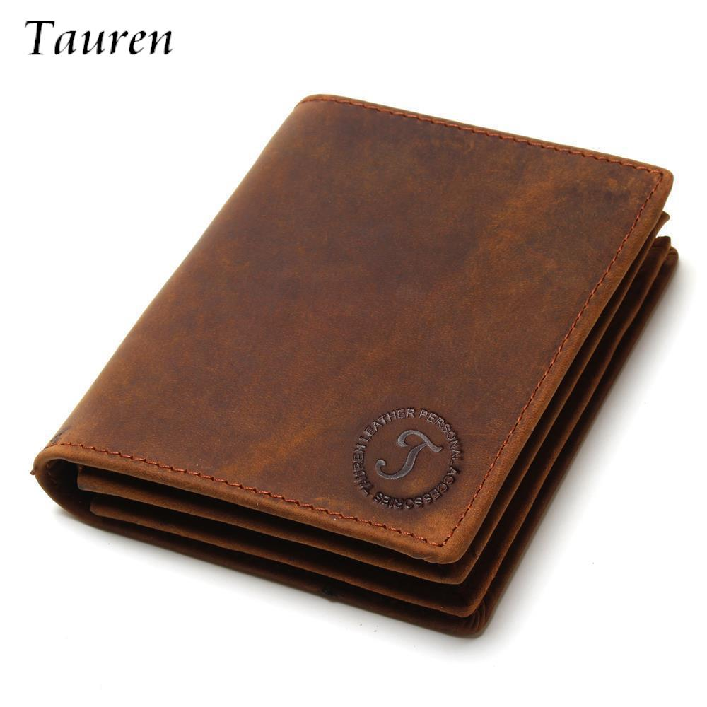 все цены на Vintage Crazy Horse Handmade Leather Wallets Men Wallets Multi-Functional Cowhide Coin Purse Genuine Leather Wallet For Men