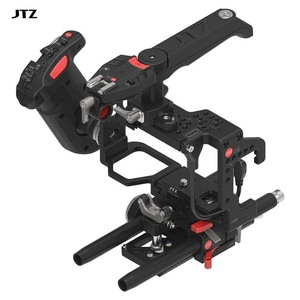 JTZ DP30 Camera Cage Baseplate Rig + Digital Electronic Control Handle Grip Handle for SONY A7 & A7II A7R A7S(China)