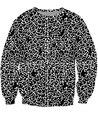 2016 New Arrive Fall Black Drops Crewneck Sweatshirt simple black and white design Jumper 3d Pull Sweats Hoodies For Women Men