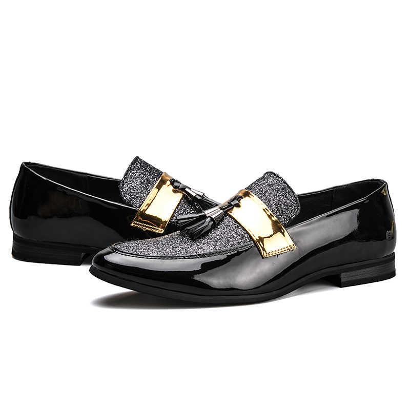 AGSan men loafers slippers handmade