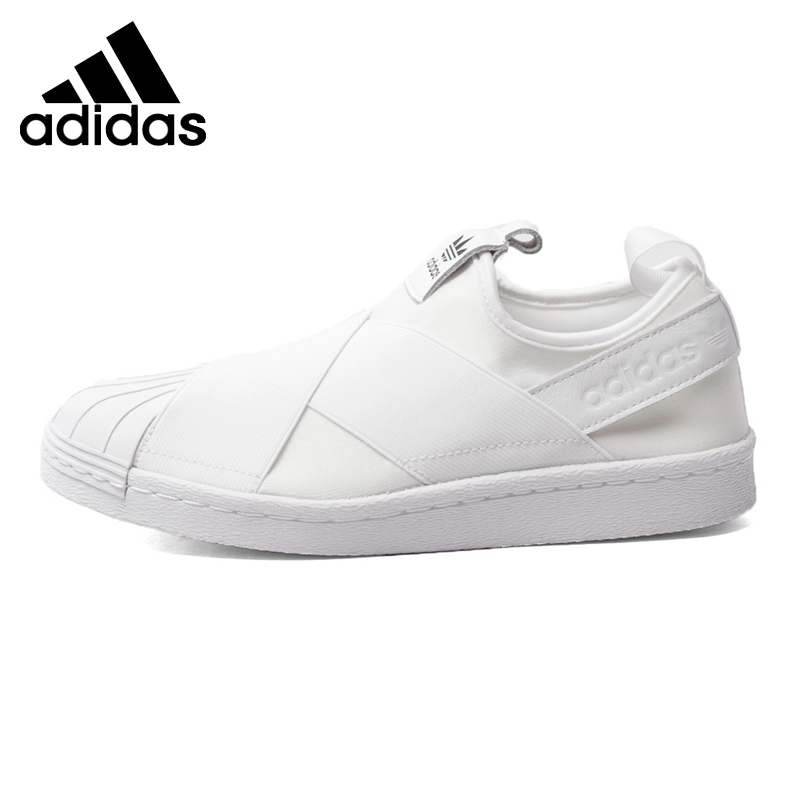 Original New Arrival  Adidas Originals Superstar Slip On W Women's  Skateboarding Shoes Sneakers