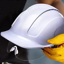 Veiligheid Helm Met Beschermende Pc Glazen Abs Bouw Helmen Werk Cap Techniek Power Rescue Helm Werken Hard Hat