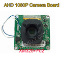 DIY 3000TVL AHD 2MP 1080P F02 CMOS XM320 DSP Analog CCTV PCB Board Camera Module Free Shipping