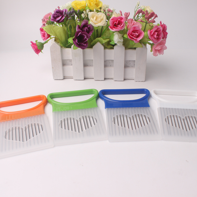 Fruit Slicing Onion Tomato Vegetable Slicer Cutting Aid Guide Holder Cutter Gadget Convenient Cooking Tool cutter