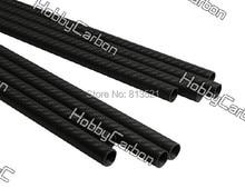 HCT071 high quality  8pcs/pack 30x28x500mm full carbon fiber 3K twill matte booms