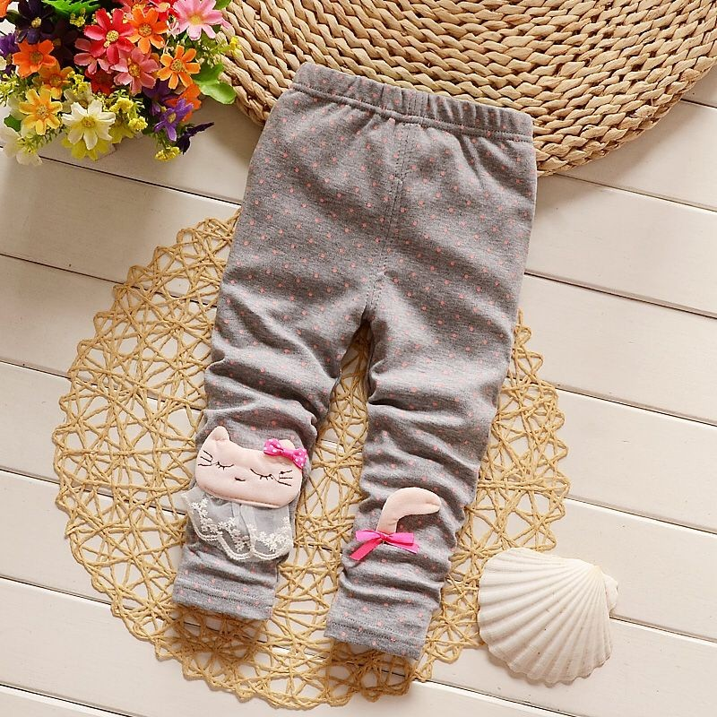 BibiCola-autumn-spring-baby-girls-pants-girls-thin-skinny-Leggings-Casual-trousers-for-girl-0-2-years-old-pink-color-2
