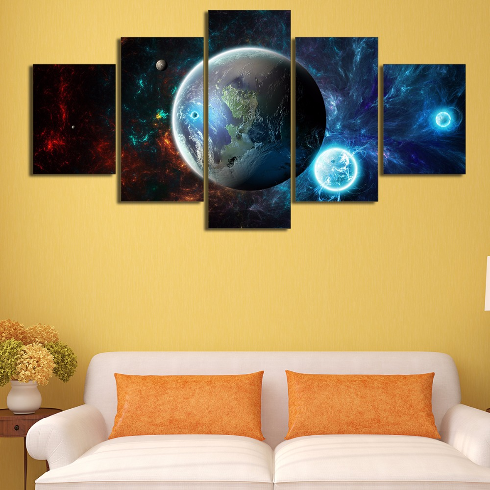 Modern Canvas HD Printed Painting Frame Home Wall Art Pictures 5 ...