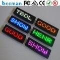 Программируемый прокрутка светодиод имя знак привело прокрутки знак Хорошей цене!!! Blue dot matrix led бейдж/прокрутка светодиод имя знак