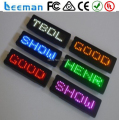 programmable scrolling led name badge led scrolling badge Good price !!! Blue dot matrix led name badge/scrolling led name badge
