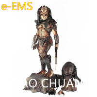 Alien vs. Predator Sea Crab City Hunter Predator 1/4 Resin Full Length Portrait Statue Action Figure Home Decorations G1496
