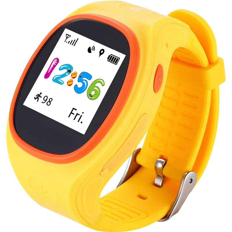 S866 2G GPS Kids Smart Watch GPS Location Device Tracker Touch Screen Rubber Band Step Fitness Smart Watch Phone for Child Gifts