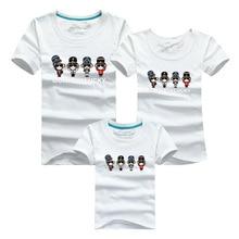 Family Shirts 2016 Men Funny T Shirt Harajuku T-shirt Sport Clothing Skate Tshirt Anime Polera Mother Kids Son Daughter Outfits