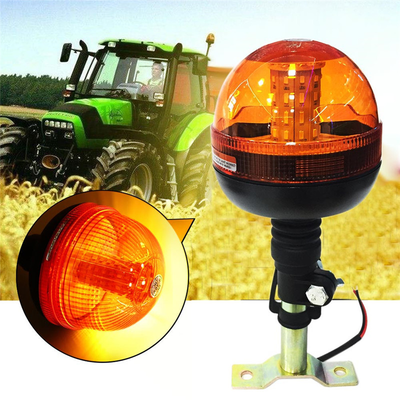 New 40 LED High Quality Emergency Warning Flash Strobe Rotating Beacon Tractor Light Super Bright Long
