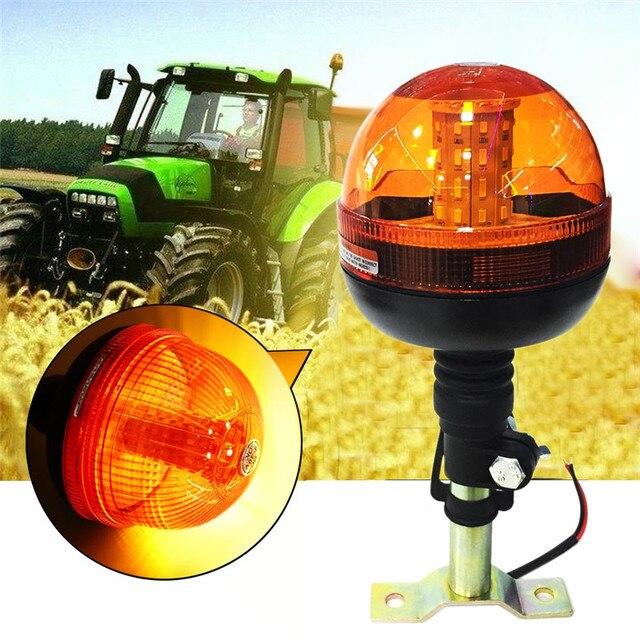 Mới 40 LED Chất Lượng Cao Cấp Cứu Cảnh Báo Đèn LED Nhấp Nháy Xoay Đèn Hiệu Máy Kéo Ánh Sáng Siêu Sáng Tuổi Thọ Động Cơ Hổ Phách #295477