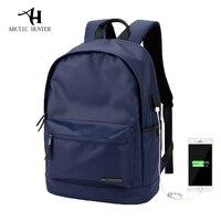 ARCTIC HUNTER USB Charging 15 6inch Laptop Backpack For Women Men Backpack School Backpack Bag For