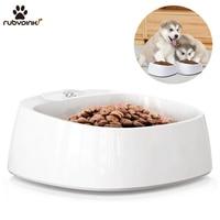 Pet smart bowl Dog food bowl digital feeding bowl stand Smart Weighing Large dog slow feeder drinking bowls dog feeder