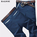 BAIJOE Hot Sale 2016 Mens Pants Fashion Casual Pants Men New Design High Quality Cotton Man Pants Slim Business Pants 28~36 code