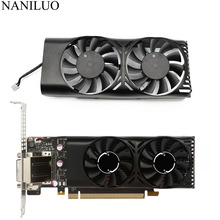 HA5510M12F Z 0.20A 2Pin GTX1050 Ti GPU Quạt Tản Nhiệt Cho MSI GeForce GTX 1050 2GT LP GTX 1050Ti 4GT LPV1 Đồ Họa thẻ Làm Mát