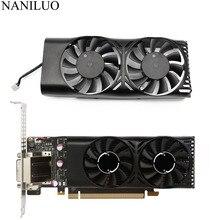 HA5510M12F Z 0.20A 2Pin GTX1050 Ti GPU refroidisseur ventilateur pour MSI Geforce GTX 1050 2GT LP GTX 1050Ti 4GT LPV1 carte graphique refroidissement