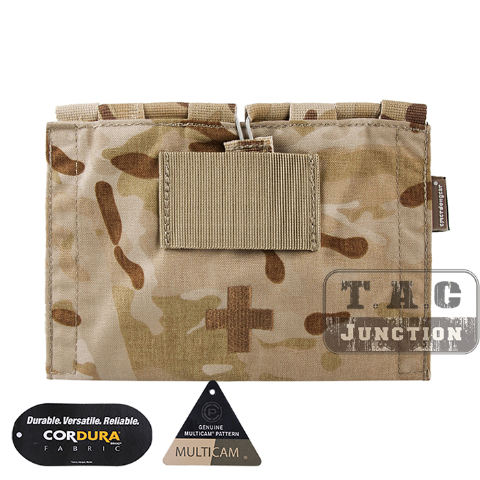 Emerson LBX Tactical Style LBT-9022B-T Modular MOLLE Belt Medic Kit Pouch EmersonGear LBT 9022B T Emergency Blow Out Bag