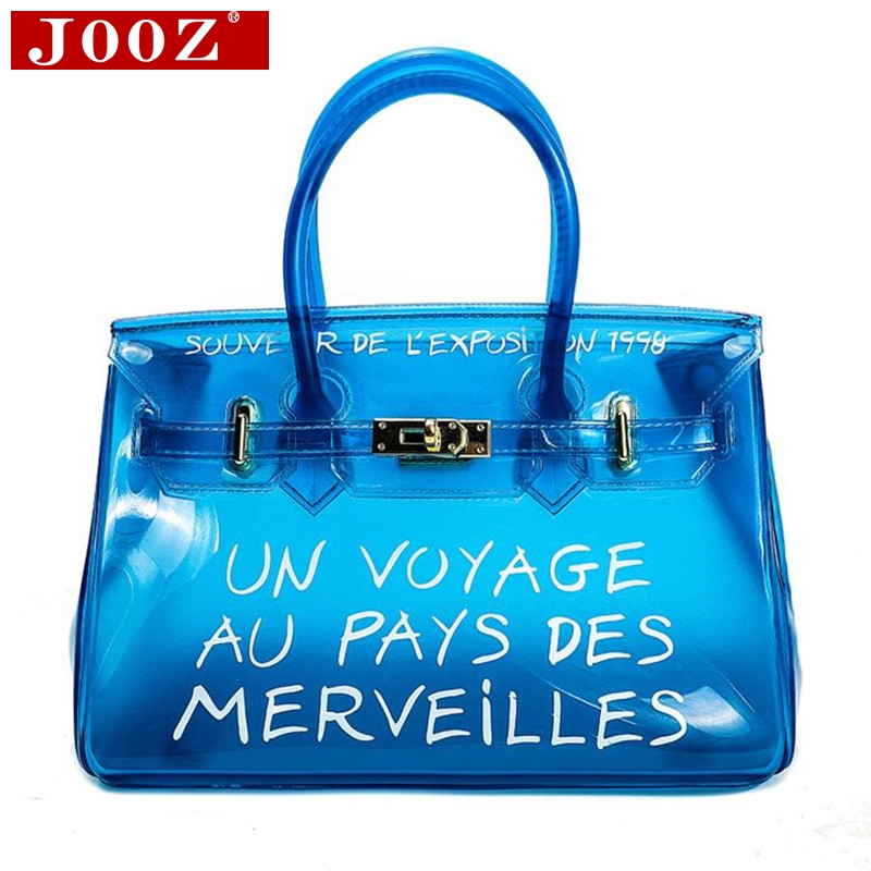 Clear Transparent Messenger Bags PVC Leather Bags for Women 2019 Female Brand Designer handbags sac a main Large Shopping ToteClear Transparent Messenger Bags PVC Leather Bags for Women 2019 Female Brand Designer handbags sac a main Large Shopping Tote