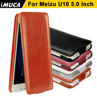 For Meizu U 10 Leather Phone Case Imuca Brand Leather Cover Protective Coque For Meizu U10