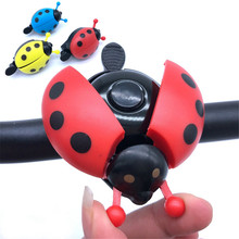 Interesting Bicycle Bell Bike Ladybug Cycling Bells Alarm Outdoor Fun & sports Accessories Horn Alarms horn cartoon
