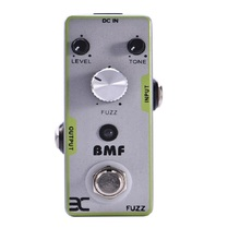 Big Muff tone FUZZ Guitar Effects Pedal Classic Distortion Effects Pedal Full Metal Shell True By Pass white Metal distortion