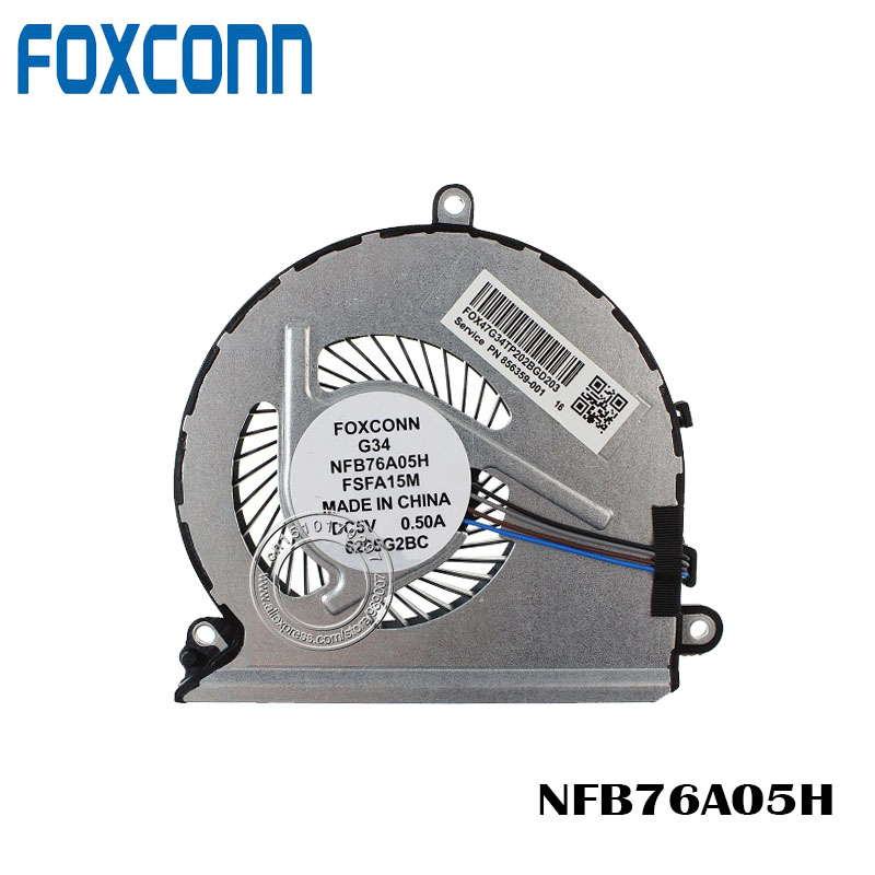 New laptop CPU cooling fan for Lenovo V310 V310-14IKB V310-14ISK V310-15ISK G34 NFB76A05H image