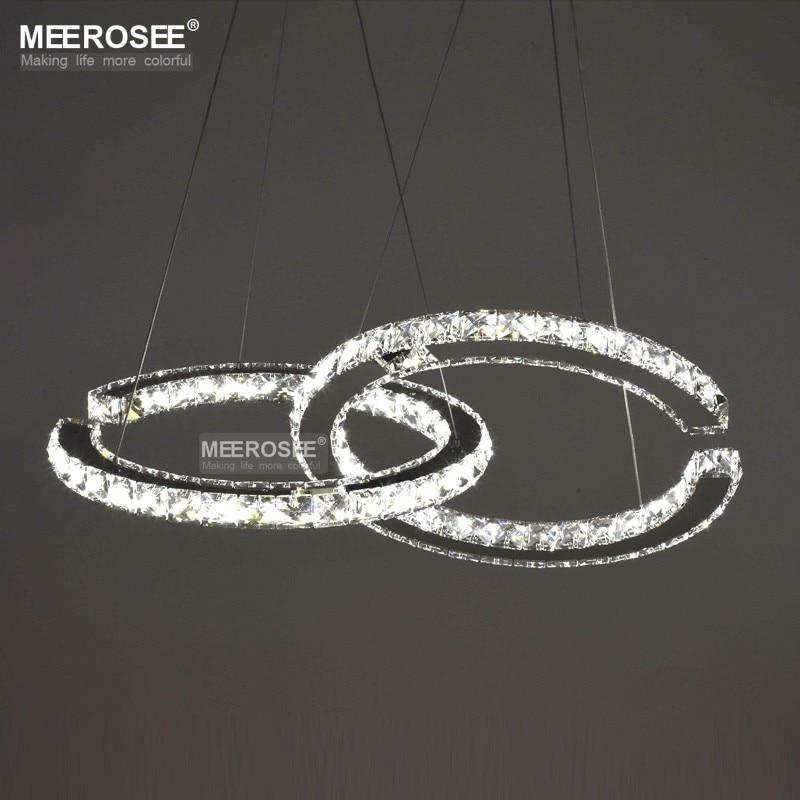 HTB1lAHGeH3nBKNjSZFMq6yUSFXap MEEROSEE Crystal Lighting Modern LED Diamond Pendant Light Fitting LED Crystal Fixture Lustres Hanging Drop abajur Lamp For Dini