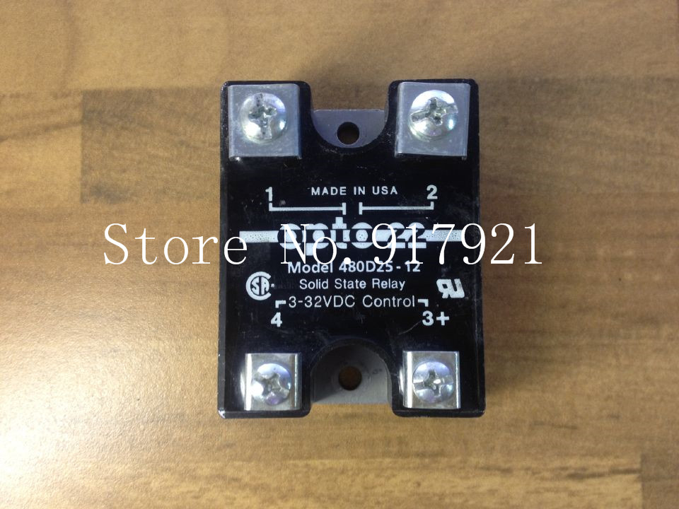 ФОТО [ZOB] The original American OPTO22 480D25-12 in 25A 3-32VDC machine imported solid relay  --2pcs/lot