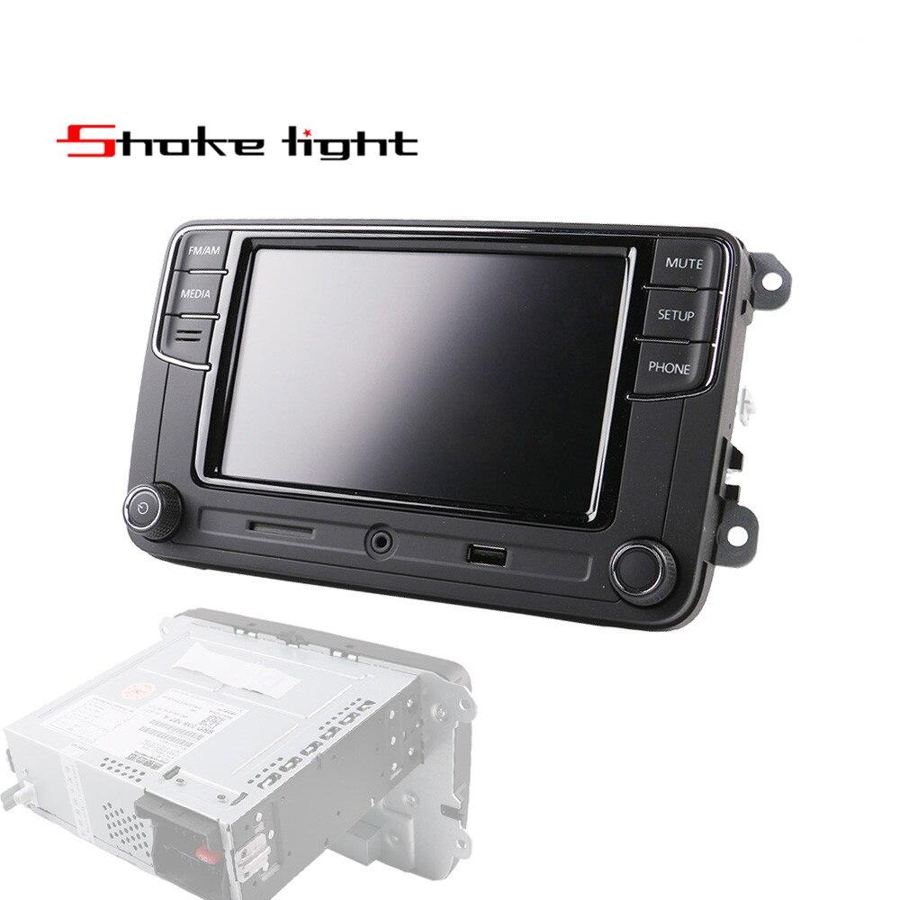 6,5 'RCD330 плюс MIB радиоприемник USB AUX Bluetooth RCD510 RCN210 для VW Polo Golf 5 6 Passat B6 B7 CC Tiguan Jetta MK5 MK6 6RD035187A