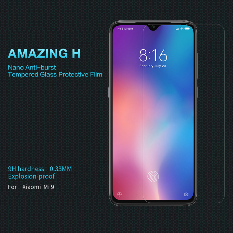 Image 5 - For xiaomi mi 9 glass Screen Protector 6.39 NILLKIN Amazing H/H+PRO CP+ XD 9H mi9 Tempered Glass Protector mi 9 for xiaomi glass-in Phone Screen Protectors from Cellphones & Telecommunications