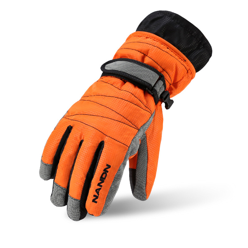 Outdoor Sports Warm Winter Thick Bike Velvet Bicycle <font><b>Glove</b></font> Adjustable Wrist Full Finger Warm Large Size Cycling Wool <font><b>Gloves</b></font> G048