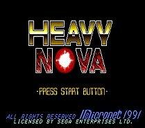 Heavy Nova - 16 bit MD Games Cartridge For MegaDrive Genesis console