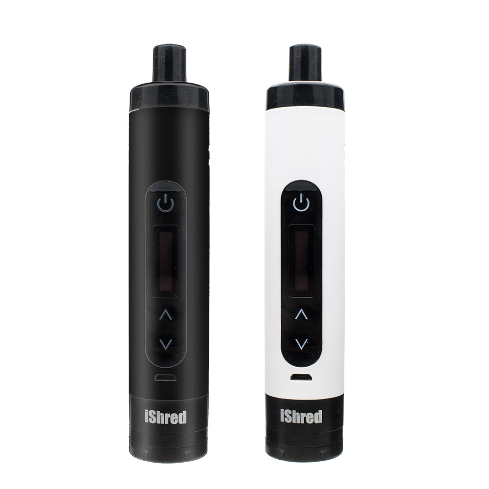 Electronic Cigarette Yocan IShred Dry Herb Kit With 2600mAh Battery LCD Display Ceramic Heating Vaporizer Kit