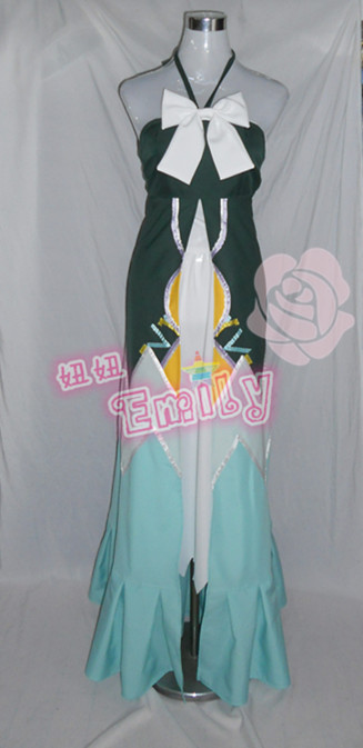 Anime Fairy Tail Lucy Cosplay Costume Lolita Party Long Dress Women Clothing Any Size NEW