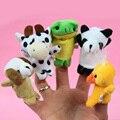 10 Unidades Bebé Niños Marioneta de Dedo Animal de la Historieta Juguetes de Peluche Niño Bebé Favor Marionetas De Cuentos