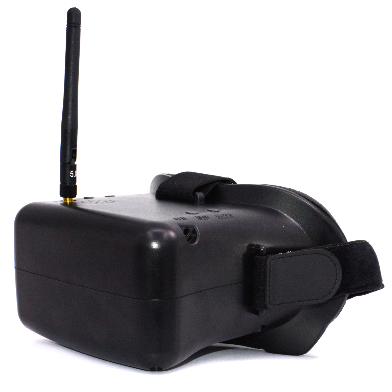 RC 007 3D 5,8G 40CH Zoll HD FPV gläser Bildschirm Empfänger + Batterteries