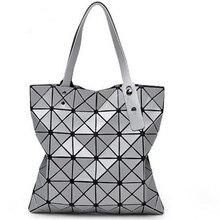 2016 heißer Verkauf Frauen Designer Berühmte Marke Schulter Handtaschen Geometrische Raute Taschen für Frauen bao bao Tasche Messenger Bags Silber