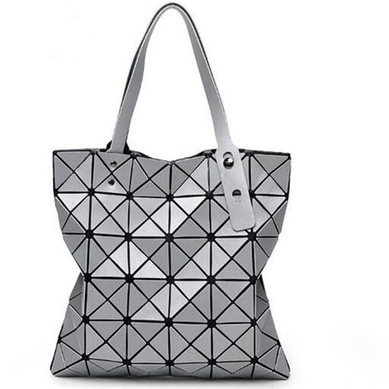 2017 Hot Sale Women Designer Famous Brand Shoulder Handbags Geometric Rhombus Ba