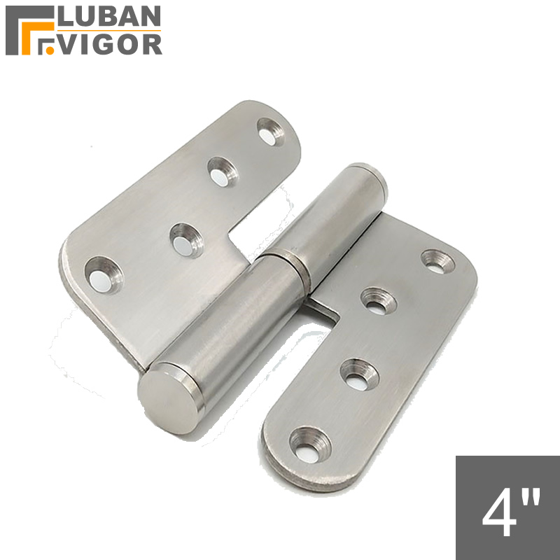 4 inch detachable, L-shaped hinge Round corner release hing,304 stainless steel , e,mechanical equipment hinged,industrial hinge4 inch detachable, L-shaped hinge Round corner release hing,304 stainless steel , e,mechanical equipment hinged,industrial hinge