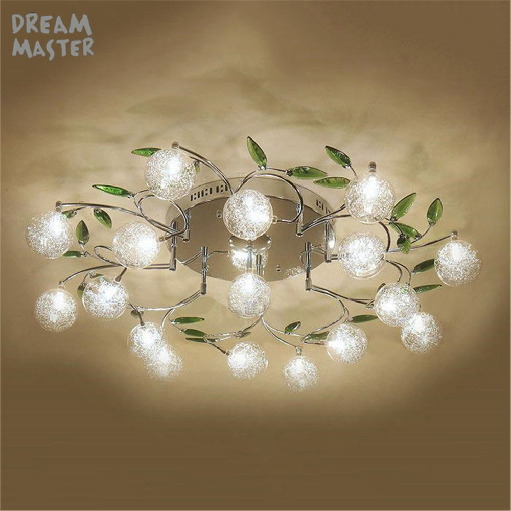 Crystal Modern Led Ceiling Lights For Living Room Bedroom AC85-265V lustre lamparas de techo avize Crystal Ceiling Lamp Fixtures new modern led ceiling lights for living room bedroom ceiling lamp lamparas de techo ac85 265v home decoration lighting fixtures