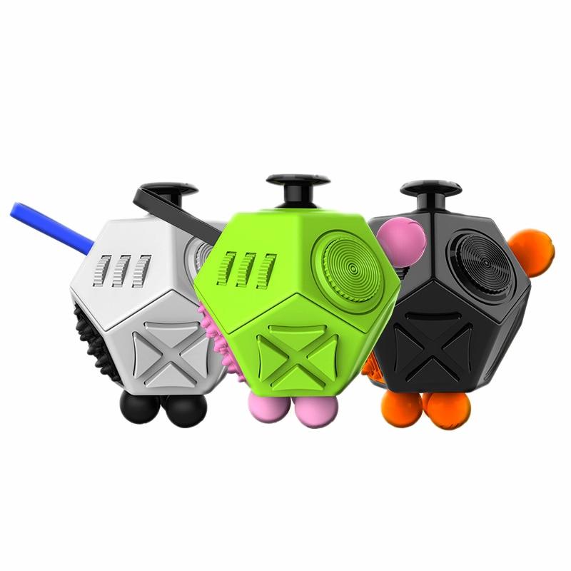 Magic Stress Upgraded 2 Antistress Magic Stress cube Relieve Anxiety Boredom Finger Tips Anti Irritability Toys(China)