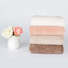 Kids Children Bathroom Super Absorbent Quick-drying Microfiber Thick Bath Towel Bath Robe Hair Towel(China)