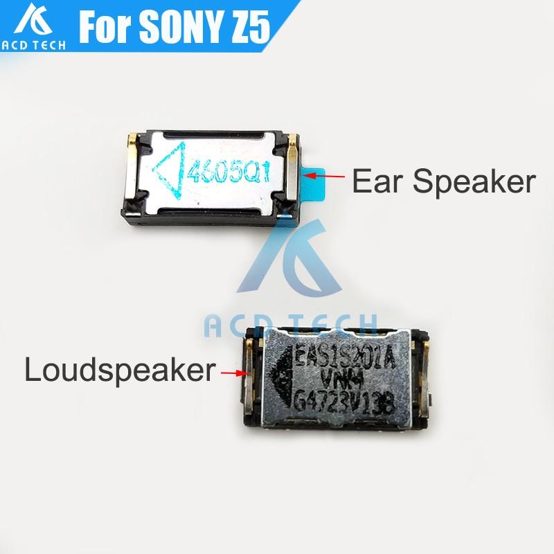 Original New Loudspeaker Buzzer Ringer Ear Speaker With Waterproof Adhesive Glue Sticker For Sony Xperia Z5 E6653 E6683