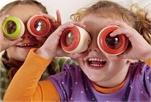 Free shipping, wooden toys, magic eye effect, kaleidoscope, prism, childrens educational toys