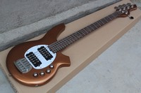 2017 New Top Quality 5 String Electric Bass Guitar Music Man Bass With 9V Battery Active